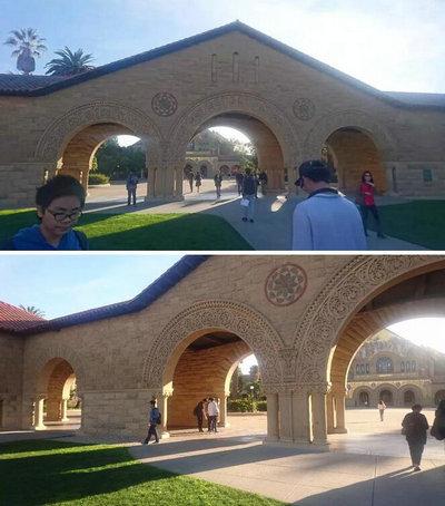 斯代文森国际高中生硅谷校区学习:斯坦福拱门